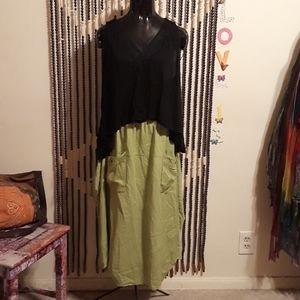 Chic Green Skirt